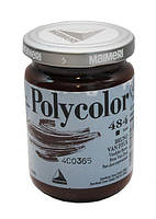 Краска акриловая  Polycolor 140мл 484 вандайк коричневый