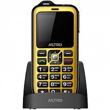 Мобильный телефон ASTRO B200 RX Yellow, фото 2
