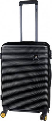 Удивительный чемодан 4-х колесный пластиковый 70 л. ADVENTURE NATIONAL GEOGRAPHIC N078HA.60;06 черный