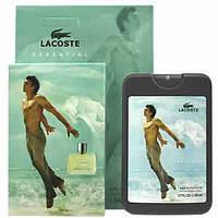 (50ml) Lacoste - Essential Man (компактная парфюмерия в чехле)