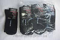 Носки мужские черного цвета упаковка 12шт коттон