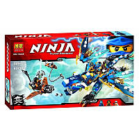 """Детский Конструктор Bela Ninja 10446 (аналог Lego Ninjago 70602) """"Дракон стихий Джея"""" 349 дет."""