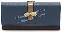 Прикольный  женский  кошелек красного цвета FUERDANNI art. 8955