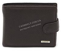 Мужской вместительный классический кошелек с искусственной кожи FUERDANNI art. 4208 коричневый
