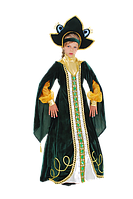 Царевна Лягушка костюм новогодний для девочки