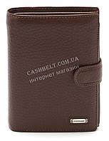 Вместительный мужской классический бумажник с искусственной кожи FUERDANNI art. 4378-2 светло коричневый
