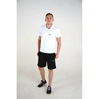 Стильная футболка Polo c нашивкой Nike. Высокое качество. Удобная футболка для современных мужчин. Код: КДН490