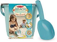 Песочно-гипсовый набор Melissa & Doug Пляжные воспоминания (MD8948)