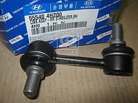 Стойка стабилизатора заднего правая (производство Hyundai-KIA ), код запчасти: 555404H200