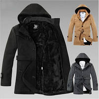 Мужское зимнее пальто. Мужское осеннее пальто. Шерсть