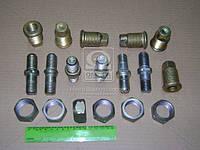 Ремкомплект ступицы ГАЗ 3307,53 левый (шпильки,футорки,гайки), фирменная упаковка (производство GAZ ), код запчасти: 3307-3103802