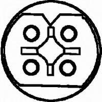 Лямбда зонд bmw 3 e36 e38 e39 (производство Behr-hella ), код запчасти: 6PA009166461