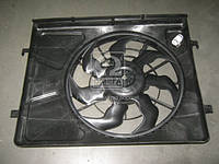 Вентилятор охлаждения двигателя в сборе (производство Hyundai-KIA ), код запчасти: 253802H020