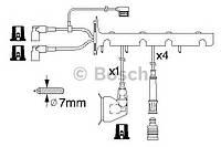 Провода высоковольтные (комплект) (производство Bosch ), код запчасти: 0986356325