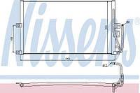 Конденсатор кондиционера Opel (производство Nissens ), код запчасти: 94653