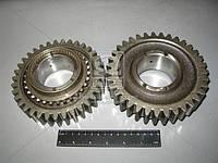 Шестерня заднего хода вала вторичного с кольцом синхронизатора (производство GAZ ), код запчасти: 3309-1701140