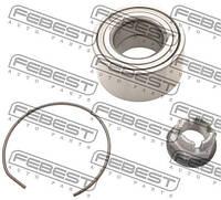 Подшипник ступицы передней (37x72x37) note 05-,micra k12 02-,logan 05-,megane 02- (-abs) (производство Febest ), код запчасти: DAC37720037KIT