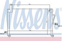Конденсатор кондиционера Daewoo (производство Nissens ), код запчасти: 94751