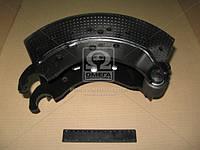 Колодка торм. барабан. 300x200 без накладок (производство BPW ), код запчасти: 0509114800