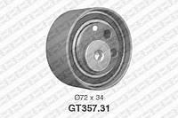 Натяжной ролик, ремень ГРМ VW 059109243J (производство NTN-SNR ), код запчасти: GT357.31
