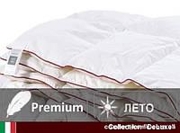 Одеяло пуховое DeLuxe кассетное Летнее 28 110х140 см
