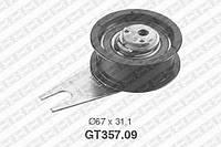 Натяжной ролик, ремень ГРМ Seat 28109243 (производство NTN-SNR ), код запчасти: GT357.09