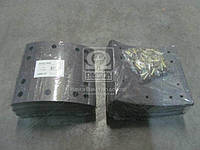 Накладка тормозная (компл. на ось) 419х178 (Отв.6,35мм) 2-й рем. ROR TA, FRUEHAUF (RIDER) (производство Rider ), код запчасти: RD 19036Rem2