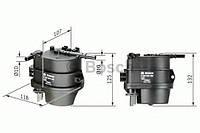 Фильтр топливный Citroen, Peugeot (производство Bosch ), код запчасти: 0450906460
