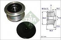Шкив генератора с обгонной муфтой (производство Ina ), код запчасти: 535011410