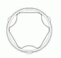 """Пильник шрус opel combo/corsa/meriva 1,7d """"03 (производство GKN-Spidan ), код запчасти: 24695"""