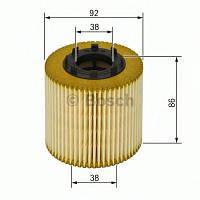 Фильтр масляный Renault (производство Bosch ), код запчасти: 1457429198