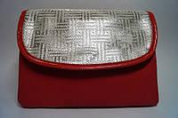 Стильная женская красная сумочка