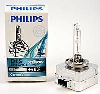 Ксеноновая лампа Philips X-treme Vision D1S (картон)