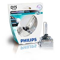 Ксеноновая лампа Philips X-treme Vision D1S (блистер)