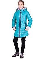 Модное демисезонное пальто на девочку весна осень