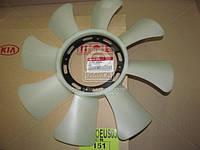 Крыльчатка вентилятора охлаждения (производство Hyundai-KIA ), код запчасти: 2526142920