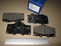 Колодка тормозная Toyota Landcruiser 90 3.0D-4D 16V 00.10- передн. (производство Sangsin brake ), код запчасти: SP1222