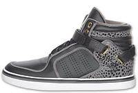 Мужские высокие кроссовки Adidas Adi-Rise Mid (адидас) серые