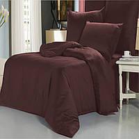 Двухспальный комплект постельного белья marsala