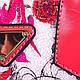 Красивая женская сумка из качественного кожезаменителя ANNA&LI (АННА И ЛИ) TUP14331-1 (розовый), фото 7