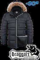 Мужская стильная зимняя куртка Braggart арт. 4206