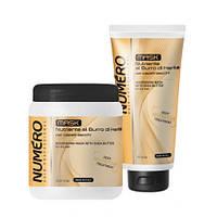 Brelil Numero Nutritive Маска для волос питательная с Маслом Каритэ 1000мл