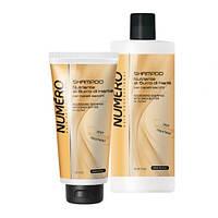 Шампунь для волос питательный на основе масла каритэ Brelil Numero Deep Nutritive Treatment Shampoo 300мл