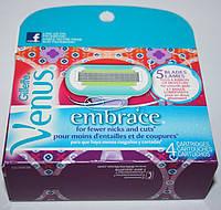 Сменные кассеты для бритья Gillette Venus Ebmrace 4шт. в упаковке