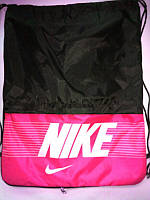 Сумка для спортивной обуви Nike с розовым карманом