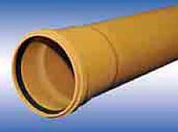 Труба ПВХ наружной канализации с удлиненным раструбом