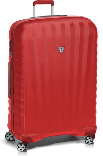 Красный вместительный чемодан-гигант из пластика 153 л. Roncato UNO ZSL Premium 5168/09/09
