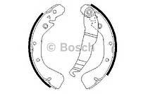 Колодка тормозная барабанная Opel Astra F-G, Vectra B, Zafira (производство Bosch ), код запчасти: 0986487554