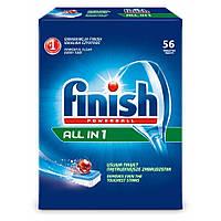 Таблетки для посудомоечных машин Finish All in 1  56 шт.