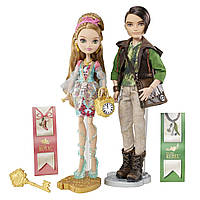 Набор кукол Ever After High Эшлин Элла и Хантер Хантсмен из серии Базовые куклы